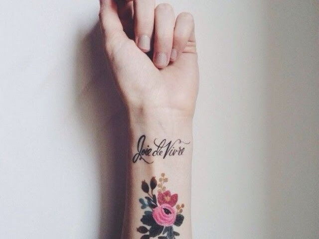 Unique Wrist Tattoos For Girls