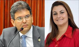 Charles tem 59,4% de aprovação e Euda Fabiana tinha 70%