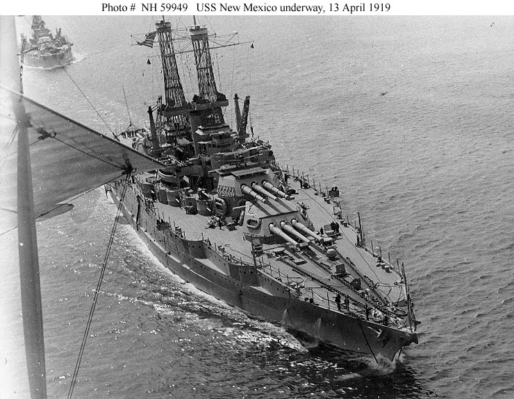 uss new mexico bb 40 images of america