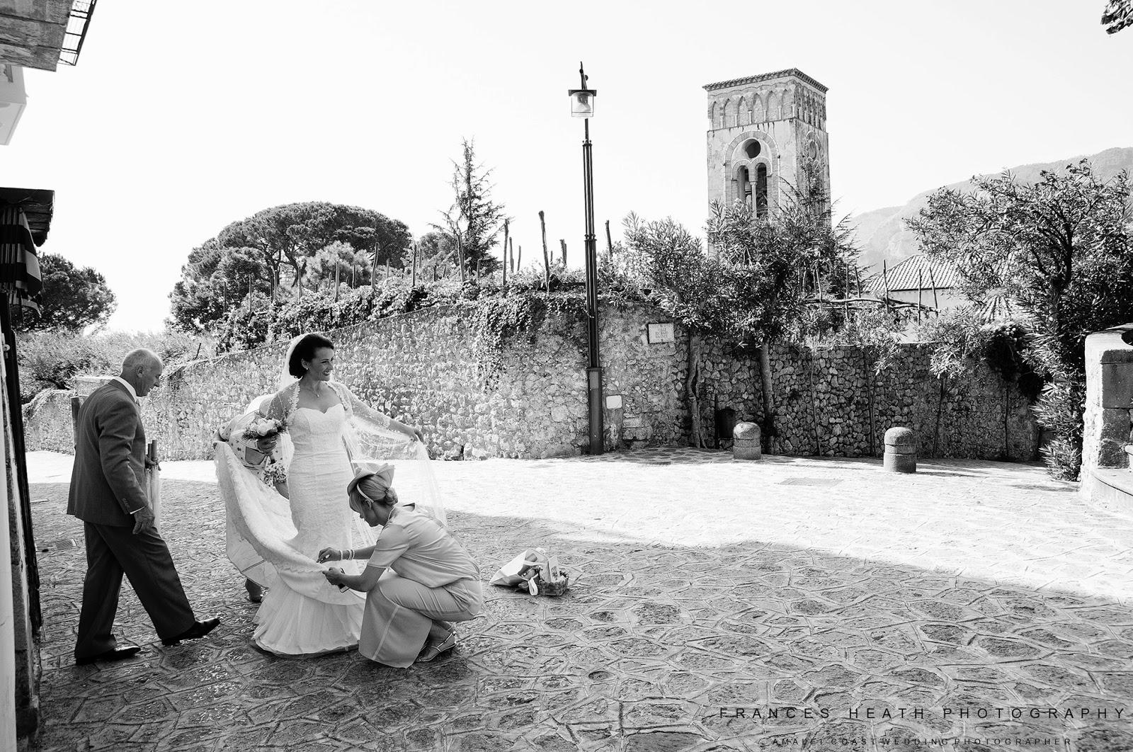 Bride in Ravello