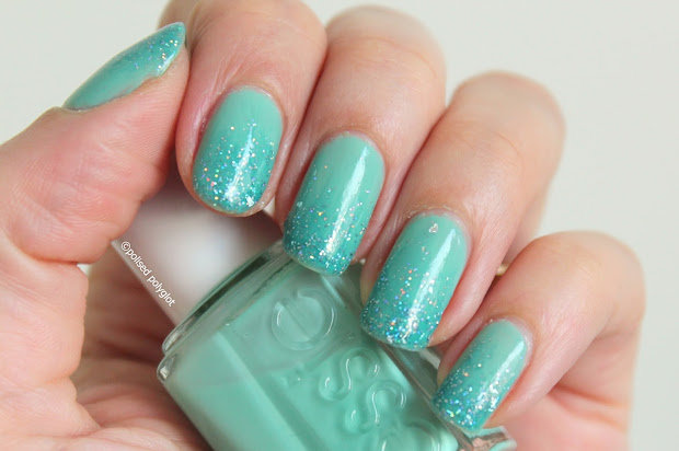 great nail art ideas aqua