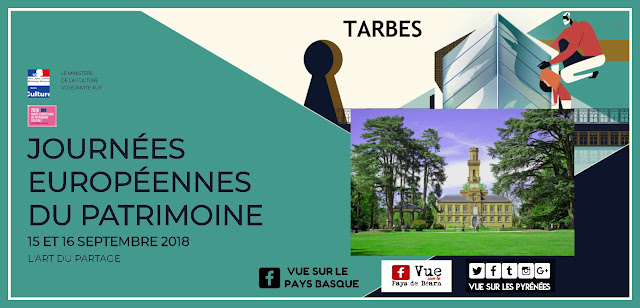 Les Journées Européennes du Patrimoine Tarbes 2018