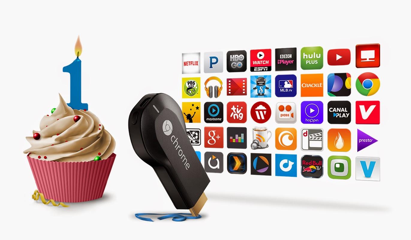 Google Chrome Blog: Happy 1st Birthday, Chromecast!