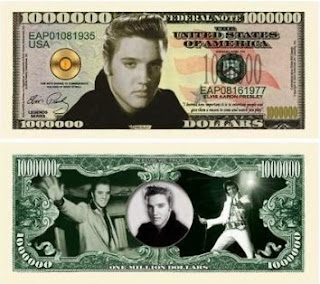 Image: Elvis Presley Million Dollar Bill