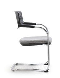 Shankar Chair with Gray Seat