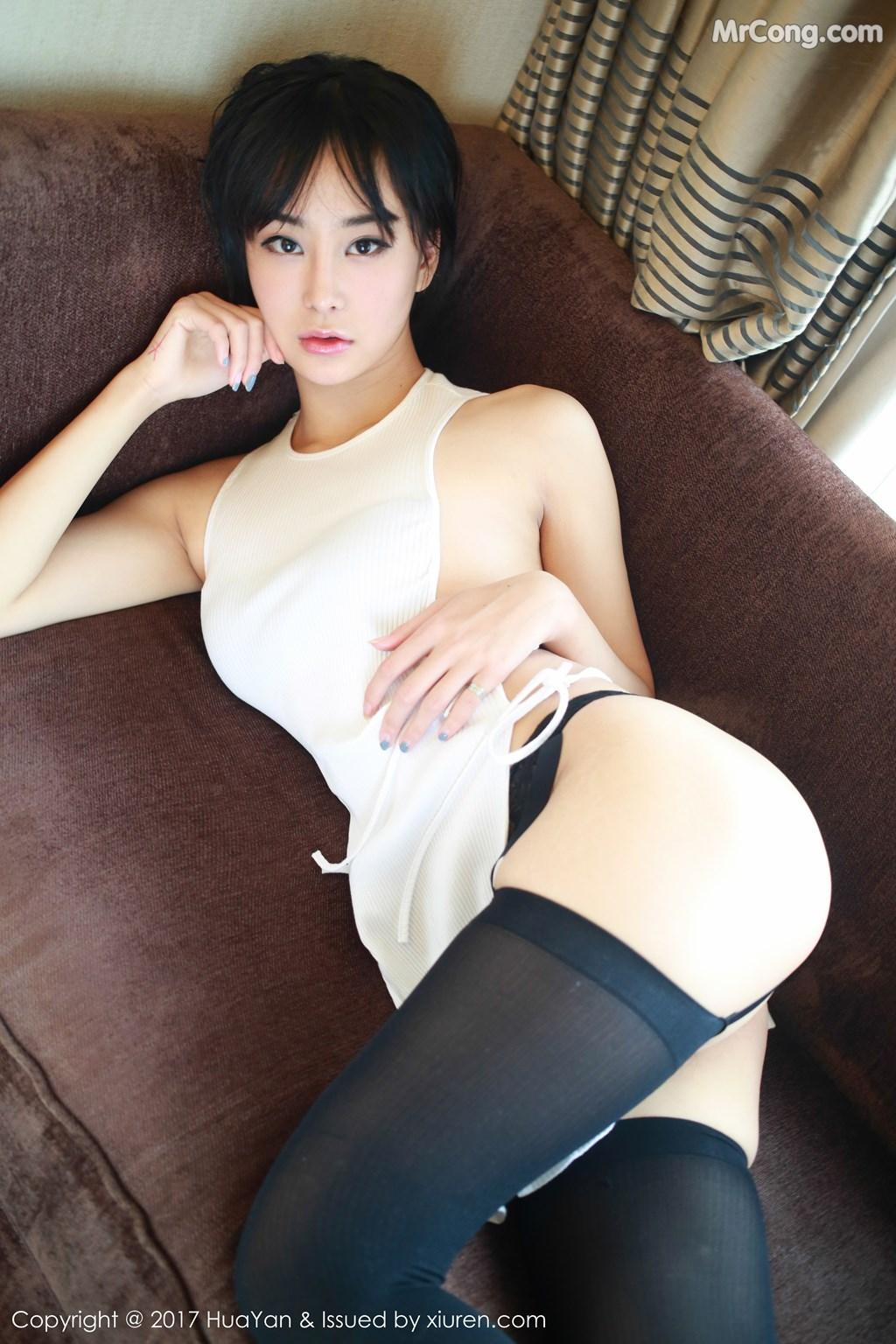 Image HuaYan-Vol.042-Yi-Lei-MrCong.com-010 in post HuaYan Vol.042: Người mẫu Yi Lei (艺蕾) (48 ảnh)
