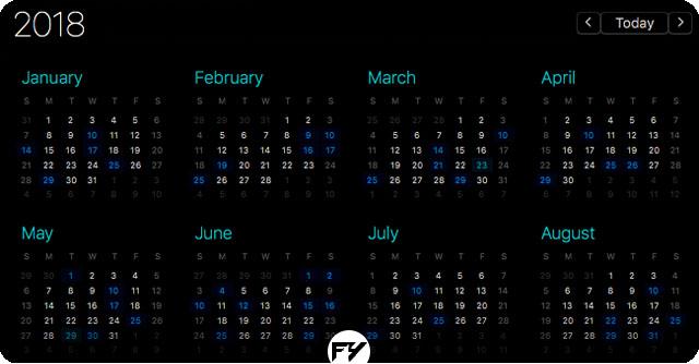 Senarai Tarikh Cuti Panjang Kalendar Tahun 2018 Untuk Malaysia
