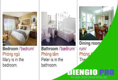Từ Vựng Tiếng Anh về đồ đạc trong nhà có hình ảnh