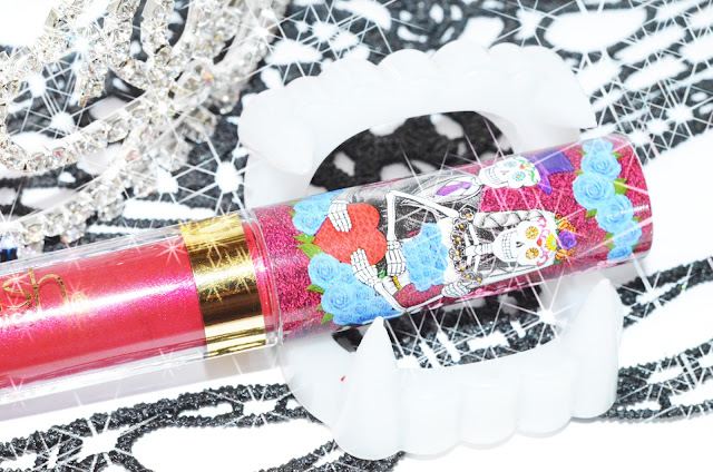 LA Splash Lip Couture # Los Novios,  Day Of The Dead Collection стойкая матовая помада