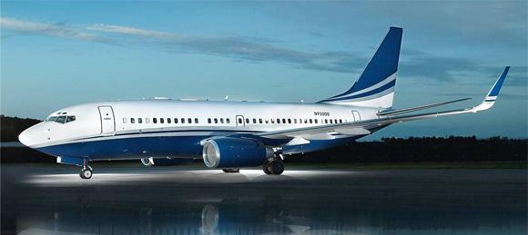Boeing Business Jet BBJ avión nivel ejecutivo