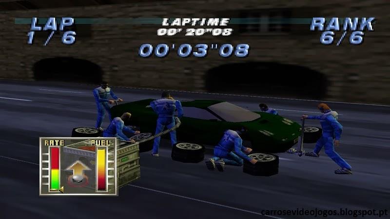 Carros e Videojogos: Automobili Lamborghini (Nintendo 64)