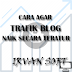 Cara Agar Trafik Blog Naik Teratur