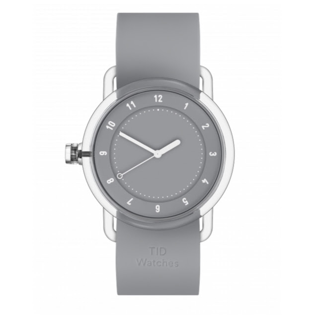 The grey No.3 timepiece from TID.