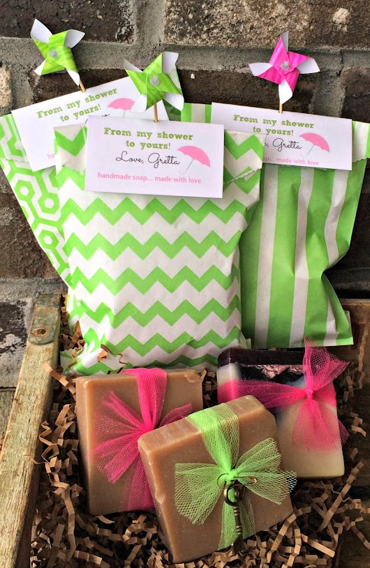 Soap Favors in our Sweet Sacks!