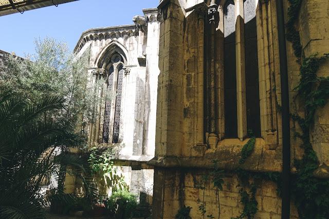 リスボン大聖堂(Sé de Lisboa)|中庭
