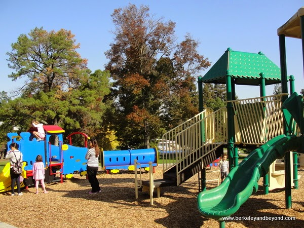 Larkey Park playground in Walnut Creek, California