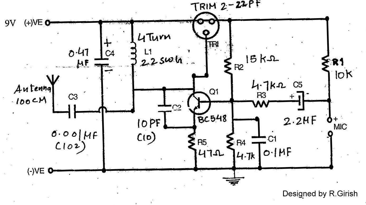 t1 repeater housing wiring diagram fluorescent strip light make this radio circuit at home
