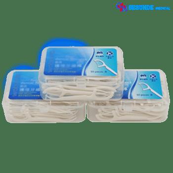 Tusuk Gigi Pembersih Plak Isi 50 | Dental Floss