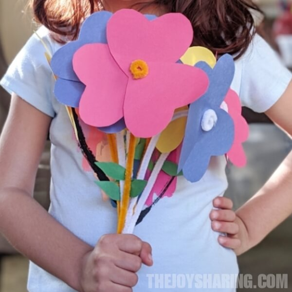 Flower Paper Craft Idea