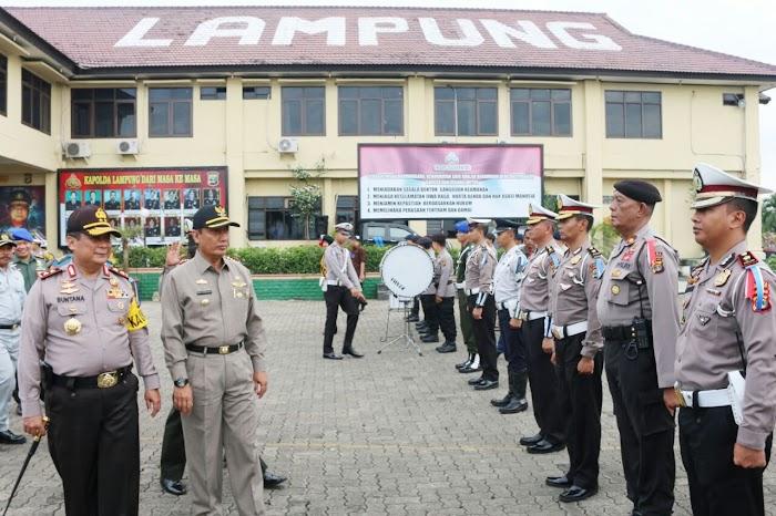 Pjs. Gubernur Lampung Hadiri Gelar Pasukan Operasi Krakatau 2018