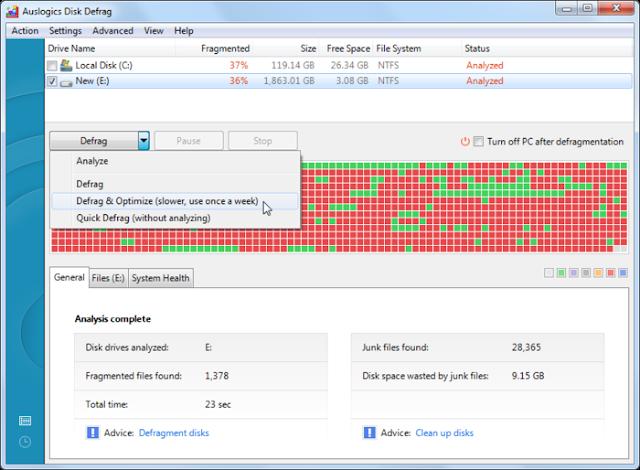 Software Defrag PC Gratis