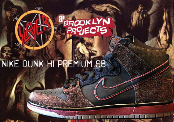 5da9514d533bdd Much has been made of the upcoming Nike SB Dunk High  Reign in Blood