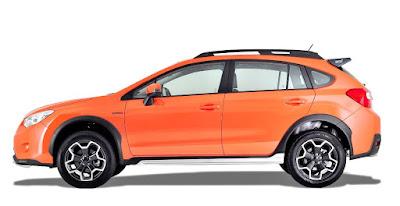 apabila seat belakang dilipat Subaru XV boleh memuatkan item sehingga 160-cm sahaja