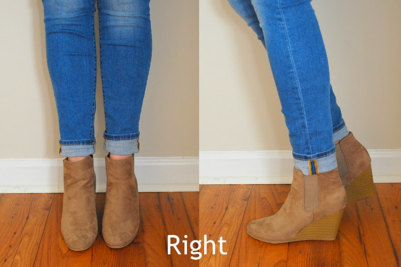 Do You Know How to Wear Ankle Boots and Cuffed Jeans?