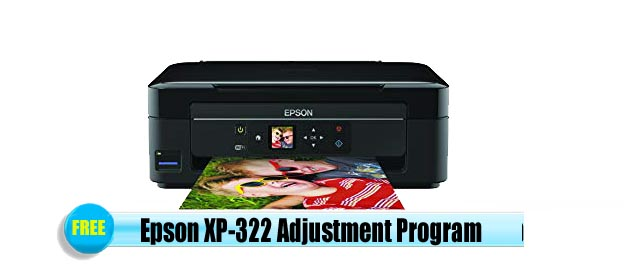 Epson  XP-322 Adjustment Program