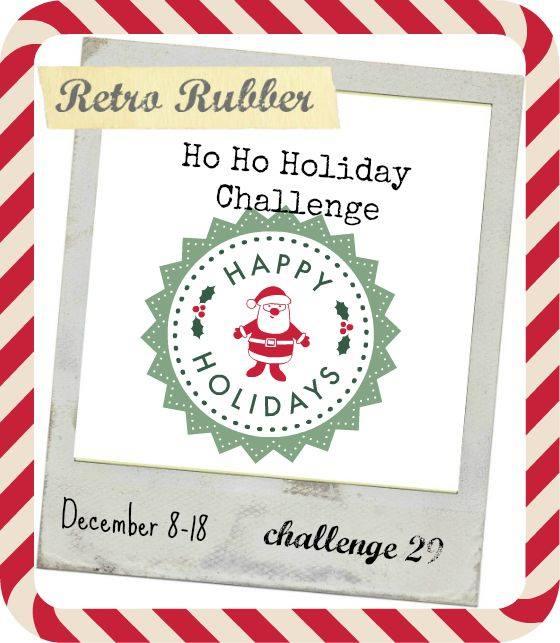 Ham 39 N 39 Mule Designs Retro Rubber Challenge 29 Ho Ho