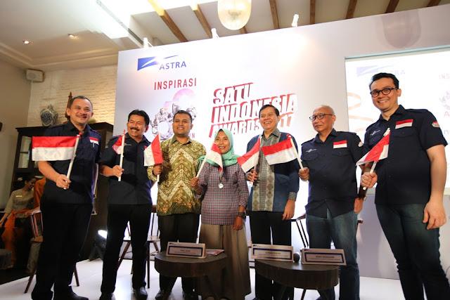 Astra kembali menggelar program Satu Indonesia Awards 2017