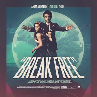 ariana grande break free ft zedd