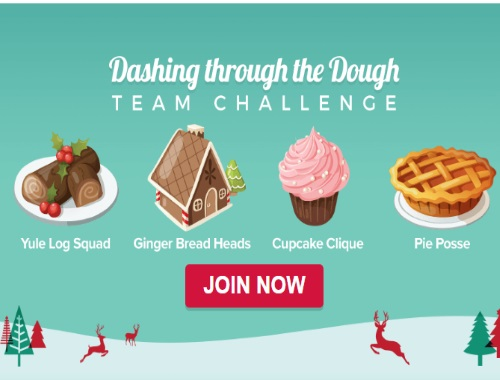 Swagbucks Team Challenge Dashing Through the Dough