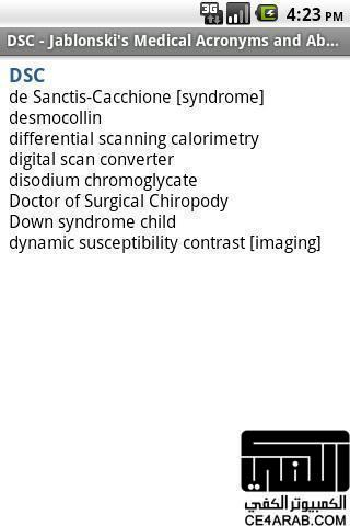 Medical Abbreviation Acronyms v2 12 68 | Android App's
