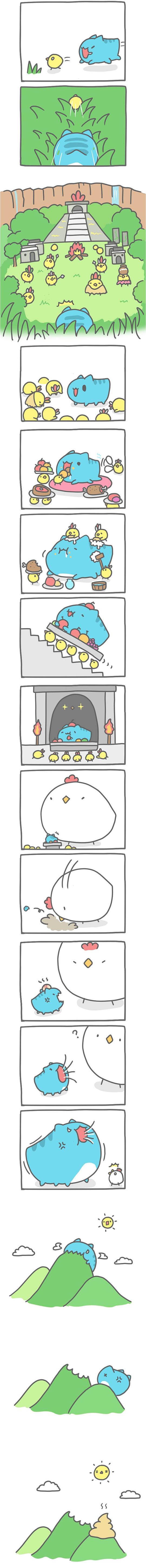 Truyện Mìn Lèo #120: Vương quốc gà con