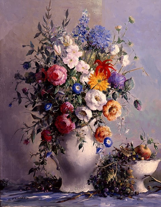 Guy Cambier 1923-2008   French genre painter