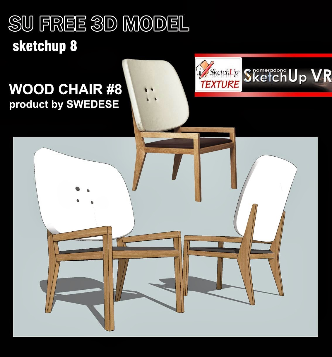 chair design sketchup evenflo majestic high jungle texture models and easy