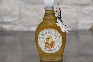 Verrines de mousse de gingembre au whisky