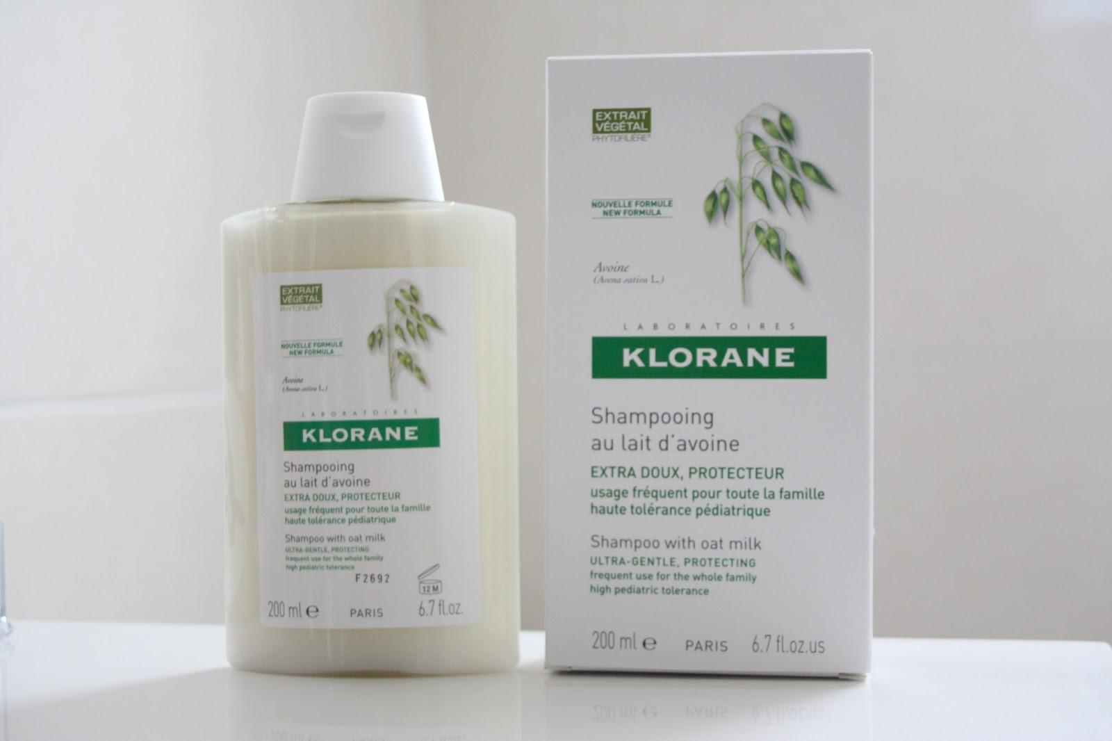 KLORANE šampon sa zobenim mlekom