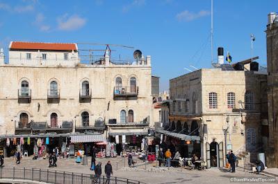 Quartier chrétien, porte de Jaffa