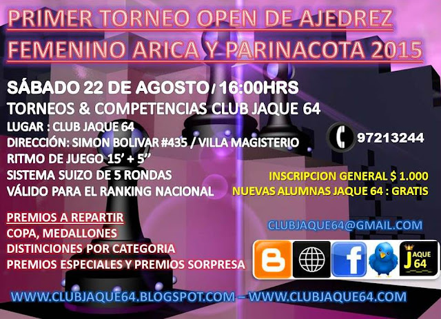 CLUB JAQUE 64