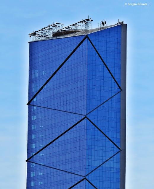 Vista da parte superior do Edifício TEK Nações Unidas - Vila Tramontano - São Paulo
