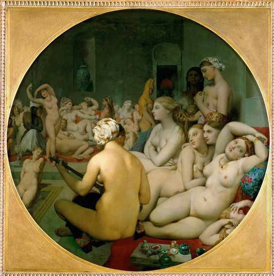 The Turkish Bath Ingres