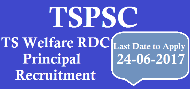 TS State, TS Recruitment, TSPSC, TSWRDC, Principal Posts, TS Women Residential Degree College, TS Jobs, TS Gurukulam Recruitment, Degree College Principal