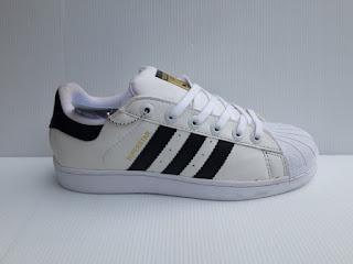 Sepatu Adidas Superstar Putih hitam murah