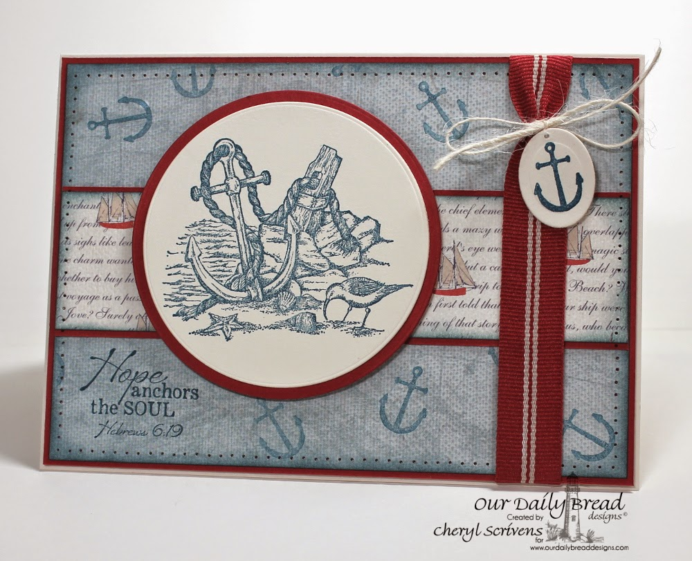 Our Daily Bread Designs, ODBDSLC211, Anchor the Soul, CherylQuilts, Designed by Cheryl Scrivens