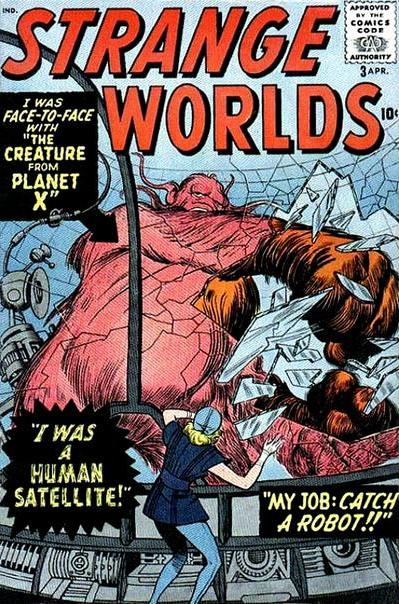 Kirby Strange Worlds Marvel