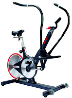Keiser M3 Total Body Trainer, with magnetic resistance & belt drive, lightweight aluminum flywheel, 24 resistance/gear levels, moving handlebars, 4-way adjustable seat
