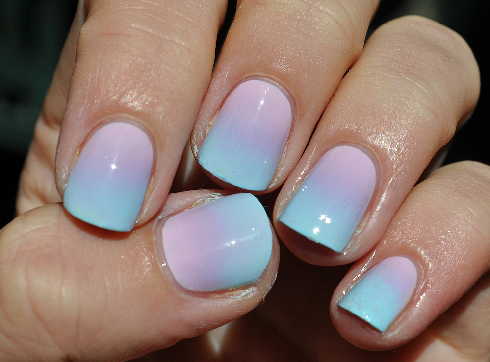 Beauty by Clara: take deux: pastel gradient nails
