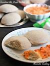 Kambu Idli, Pearl Millet Idlis